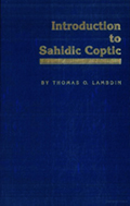 Introduction to Sahidic Coptic
